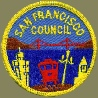 San Francisco Council Patch, (c 1950)